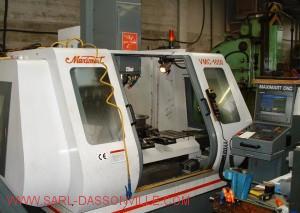Centre d'usinage CN avec diviseur automatique