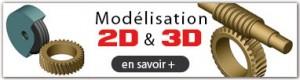 Modélisation de vos outillage et machine en 3D