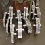 roue dentée travaile en série