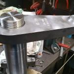 Arbre et levier cannelé DP 20-40 à 30°