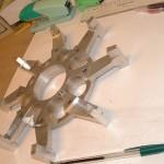 Etoile largeur 37.5mm pour carambar papilloteuse industrie alimentaire confiserie