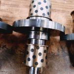 Galets de la machine ISHIDA CARBURE De 100/147 rectifié blanchir avec un rayon avec un état de surface aussi lisse que possible polir avec disque coton suivant indications clients bien emballé fragile