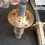 Vérins mécanique vis acier écrou bronze