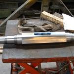 arbre support couteaux pour broyeur acier spécial réalisé sur centre d'usinage 4 axe