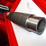 Arbre de transmission creux agricole cannelée pour épandage norme ASAE S 203.5 din 9611