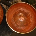 bassine de cuisson sucre réparation du plan de joint