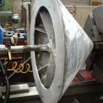 cône écrasement de la pâte pour baguette réparation de l'arbre d'entrainement