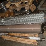 cylindre de carde réparation de pioches