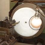 engrenage nylon pa 6.6 diamètre 800 mm.
