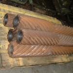 machine à teiller le lin fabrication de rouleau
