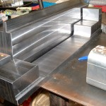 poinçon matrice pour plieuse pour mise en forme de plaque aluminium