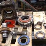 Réparation complet d'un réducteur démontage pour analyse des pièces usée s et réalisation du devis