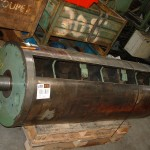 industrie de la cartonnerie réparation d'un rouleau porte clichet