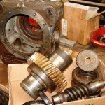 réducteur roue et vis sans fin démontage réparation complète et remontage