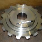 roue à chaîne de manutention gode