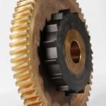 roue à vis bronze avec rochet acier trempé