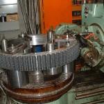 taillage d'une roue à chaine pas 63.5
