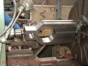tournage d'une vanne de robinetterie pour le secteur pétrolier