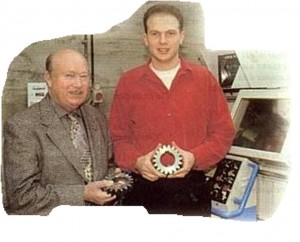 à gauche : Didier Dassonville à droite : Criss Dassonville