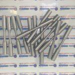 éprouvette aluminium extraite d'une culasse de moteur