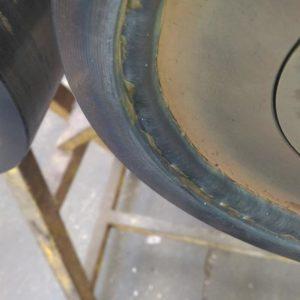 Cordon de soudure sur rouleau, Réalisation complète de rouleaux de convoyeur sur demande client