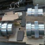 engrenage pour machine de forge Pignon acier 34 Cr Ni Mo 6 T D 336/316 tourné semi CN réaliser un nez excentrique pour le tournage et le taillage taillé fraisé sur centre d'usinage trempé 54 hrc profondeur 2 à 4 mm. gravé suivant plan 4821 001 22 101