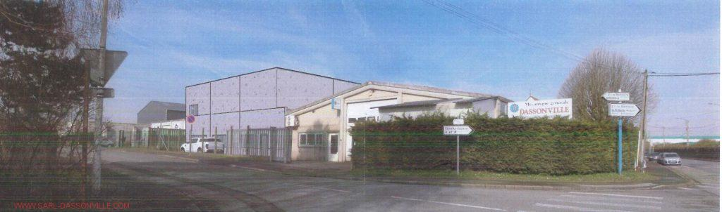 Vue extérieure du futur bâtiment fin des travaux en janvier 2017