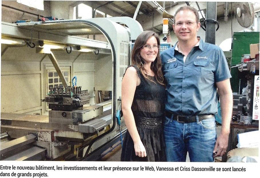 Vanessa et Criss Dassonville