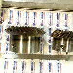 Couple spiro conique 29x60 dts M 4.9 acier 16NC 6 cementé trempé denture rodée au modèle