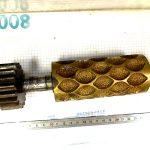 cylindre bronze gravée pour bonbon citron (confiserie) réalisation complète de cylindre gravée avec n'importe quel forme demandée engrenage bâti fourniture complète