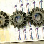 Pignon conique avec cannelure intérieur électro érosion des cannelures au fil suivant la norme PSA B18 1157