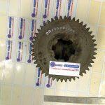 Pignon cannelé double denture Fourniture complète cementé trempé denture taillée 0154-007-B