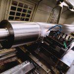 Rouleau acier D 262-3785 ébauche Tube D 265 al 190 manipulé aux palans tourné CN moleté fraisé sur centre d'usinage soudé rectifié les pioches suivant plan sans CHROMAGE sans équilibrage 003A0117M