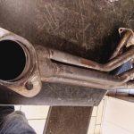 pot d' échappement inox réparation des soudure supersprint