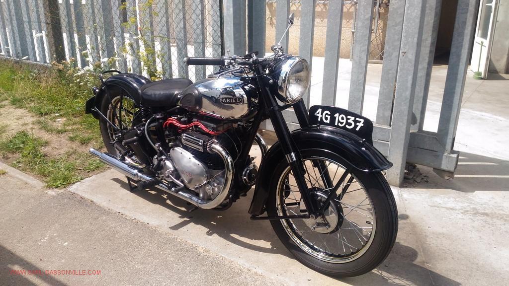 ARIEL SQUARE FOUR SQUARIEL SQ4 1953 1000 CC 4G MOTO VINTAGE MOTORCYCLE 1953 réparation mécanique de toutes voiture de collection