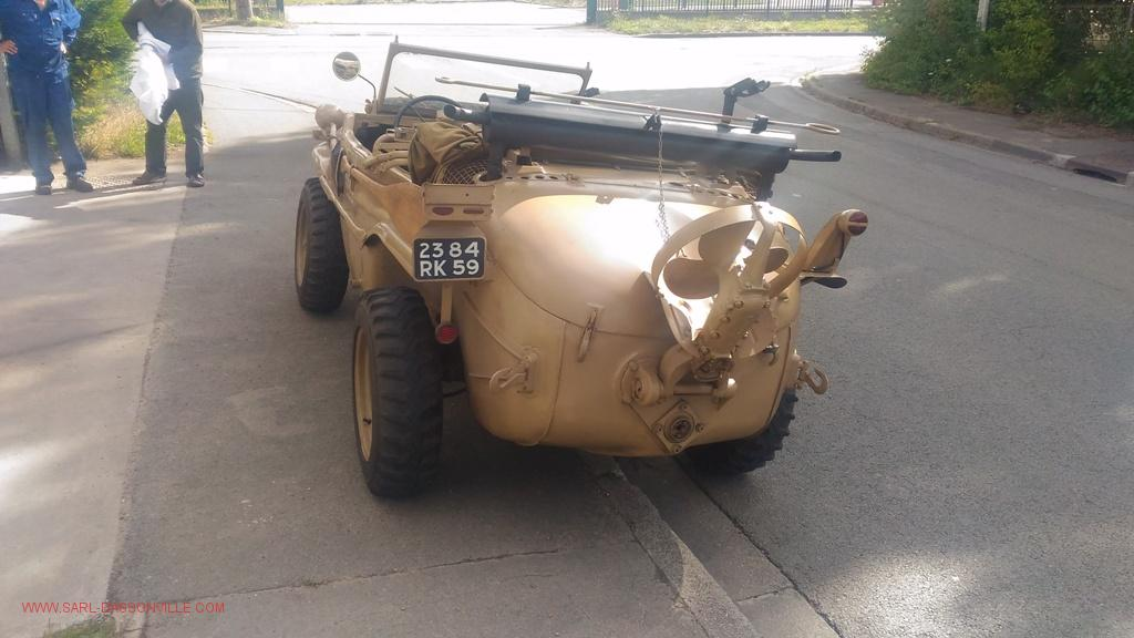 réparation mécanique de toutes voiture de collection VW 166 Schwimmwagen est une voiture amphibie