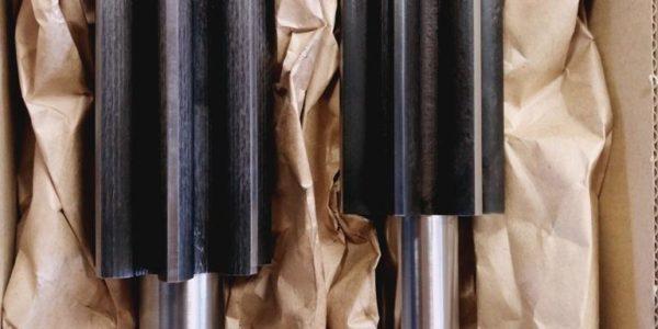 Pignon arbré acier D 64/291 tourné CN fraisé sur centre d'usinage taillé cementé trempé 55-58 hrc profondeur 1.3 rectifié cylindrique suivant plan (pas de rectification de denture)