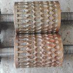 Cylindre gravée en bronze pour confiserie type COLONNA