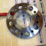Cylindre de sertissage Moletage profond réalisé en taillage