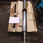 Réparation de pioche sur cylindre pour impression clichet imprimerie