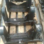 Support de roues fraisé sur fraiseuse cn de grande taille pièce mécanique pour Arracheuse à pommes-de-terre et endives