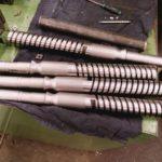 fraisé sur centre d'usinage trempé 56-57 hrc suivant plan côté marteau (modèle GN 56-57 hrc) GN 22459