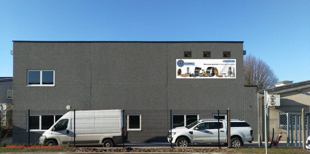 façade du nouveau bâtiment achevé début 2018